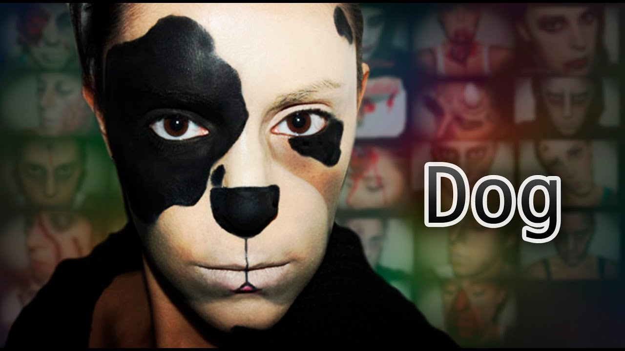 Carnival make up 6: Dog - YouTube
