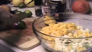 Exquisita Ensalada De Jicama Pepino Y Mango!!!