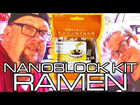 CRUSHED IT!! We Build Nanoblock Ramen! ナノブロック ラーメン nanoblocks nano block
