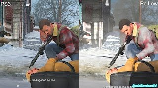 GTA 5 Pc Low Settings Vs PS3 Graphics Comparison