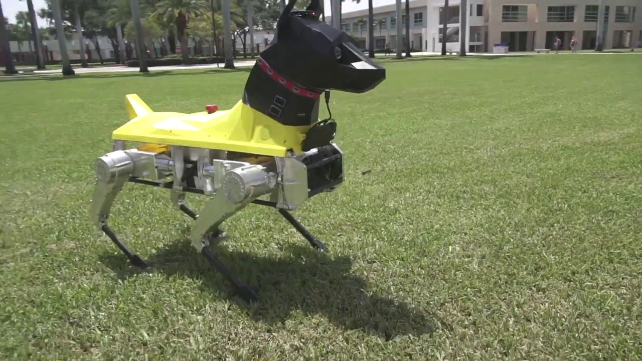 Astro robot dog learns new tricks using deep neural networks