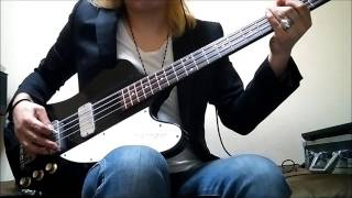 THE YELLOW MONKEY / 砂の塔 【BASS COVER】