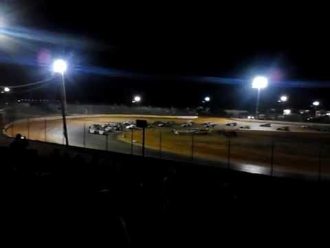 First Couple of laps of WPMS's 1st Annual B-mod Nationals