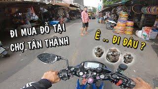 Đi Mua Ốc Chảng Ba Tại Chợ Tân Thành - Chợ Đồ Xe Lớn Nhất Việt Nam   Thiện Red