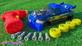 Assembling Racing Toys Cars For Kids - Car Toys Studio