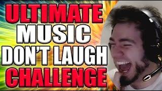 ULTIMATE MUSIC DON'T LAUGH CHALLENGE   ZellenDust