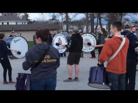 Pipes and Drums CFB North Bay