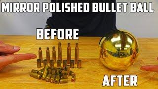Casting Mirror Polished Brass Ball from Molten Brass (Japanese Aluminium Foil Ball Sequel) by : PressTube