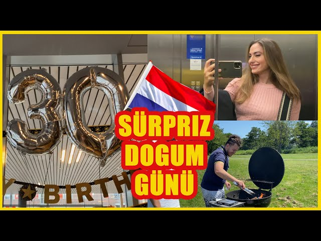 CORONA'YA REST 3x SÜRPRIZ DOGUM GÜNÜ! HOLLANDA'DA MANGAL!