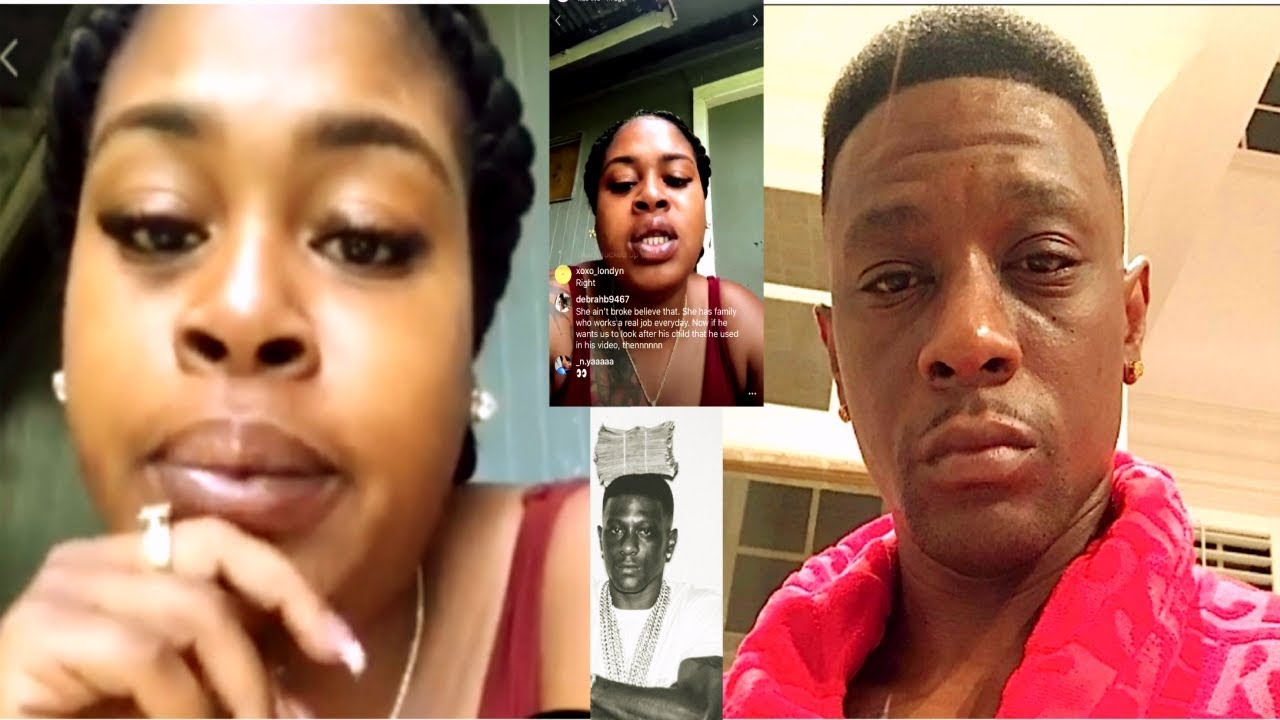 Rapper Lil Boosie & His Baby Mama Allegedly Expose Each Other On Instagram.