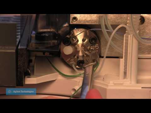 HPLC Maintenance- Replacing Needle & Seat Capillary on an Agilent G1313A/G1329X Standard Autosampler