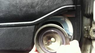 Mercedes stock speaker upgrade…