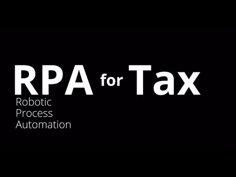RPA for Tax