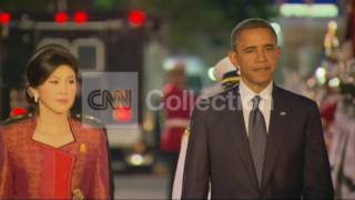 THAILAND: CERIMONY ARRIVALS/OBAMA AND THAI PM