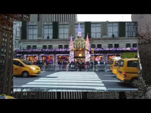 OUR CHRISTMAS TRIP TO N.Y.C. RADIO CITY MUSIC HALL (YANKEE TRAILS)