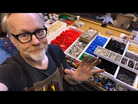 Adam Savage's One Day Builds: LEGO Sorting and Storage System!