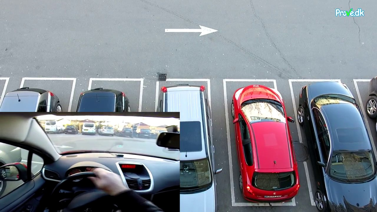 hvordan parkerer man i bås