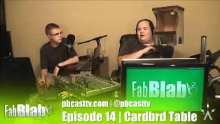 Fabblab 14: Cardboard End Table