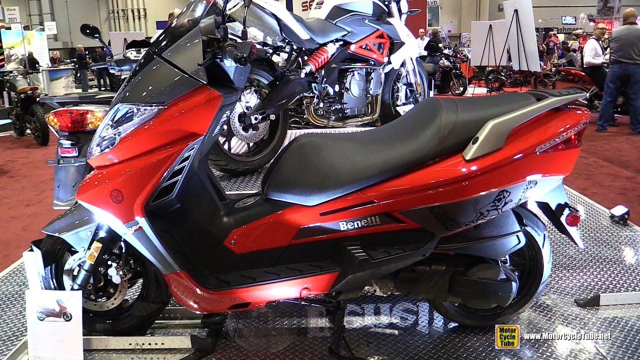 2017 Benelli Zafferano 250 EFI Scooter