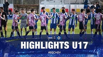 Highlights - U17 - HSV - 20.Spieltag - B-Junioren Bundesliga - Hertha BSC - Berlin