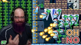 OH NO! | Super Mario Maker 2 - Expert No Skip Challenge For 1000 Clears [7]