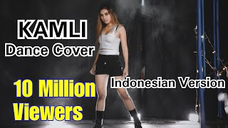KAMLI - COVER DANCE - PARODI VERSI INDONESIA || Vina Fan || DHOOM 3