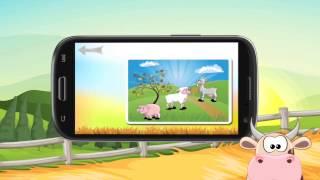 Животные с фермы детей игры
