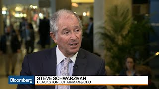 Blackstone CEO Schwarzman on Deal Prices, Federal Reserve