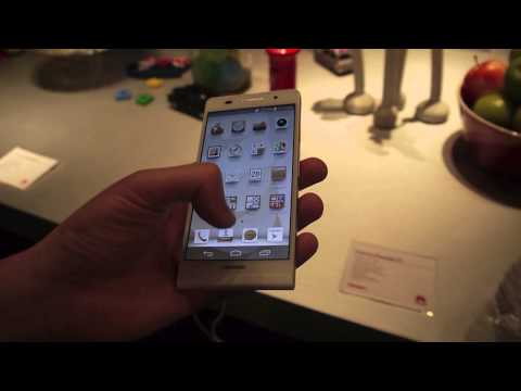 Hands on with the Huawei Ascend P6 live in London