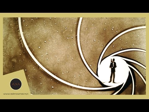 James Bond 2015 - Sand Animation BGT