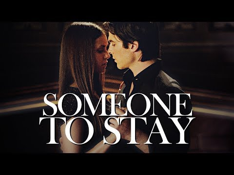 We all need someone to stay.