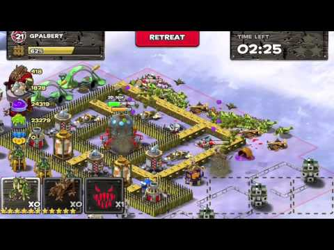 backyard monsters unleashed best attacking strategy youtube