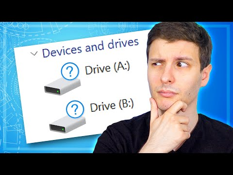 What Happened to the A: and B: Drives in Windows?