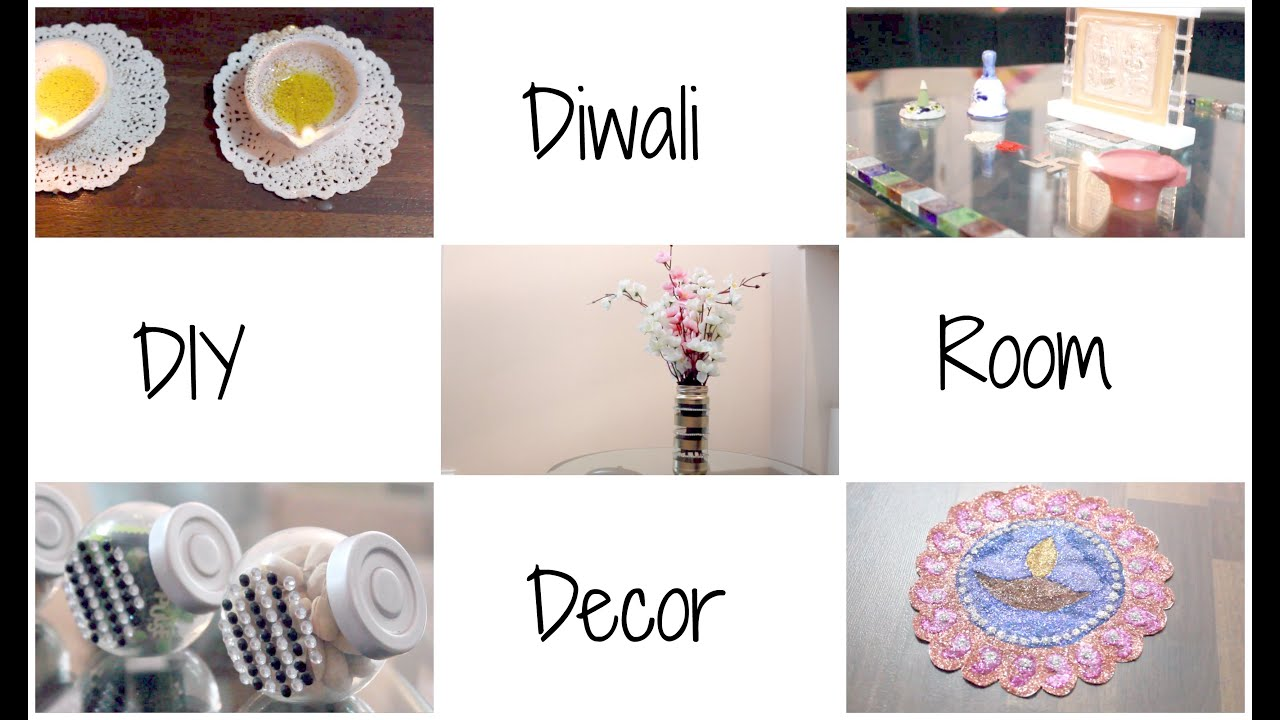 DIY Room Decor For Diwali | Cute, Easy and Affordable | Diwalog Day ...