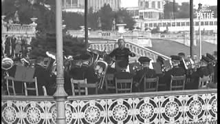 The Crystal Palace (1851-1936), rare footage 1935.