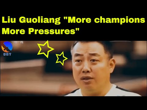 Table Tennis Reportage: Liu Guoliang with the pressure as a head coach