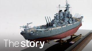 일본 항복의 그 순간! 해병 2,000명이 올라간 미주…
