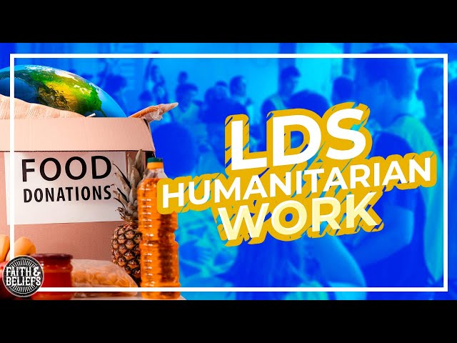 The Latter-day Saint Welfare/Humanitarian program is LEGIT