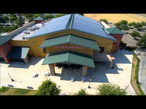 Renewable Solar Adventure Park solar install