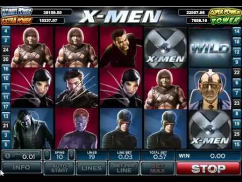 Игровой автомат X Men от Playtech
