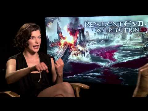 Resident Evil: Retribution (2012) Exclusive Interview: Milla Jovovich (HD)