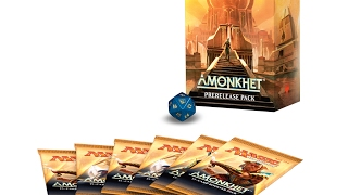 mtg amonkhet prerelease kit opening 2 magic the gathering
