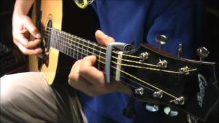dont cross the river - america-chords- harmony  fingerstye