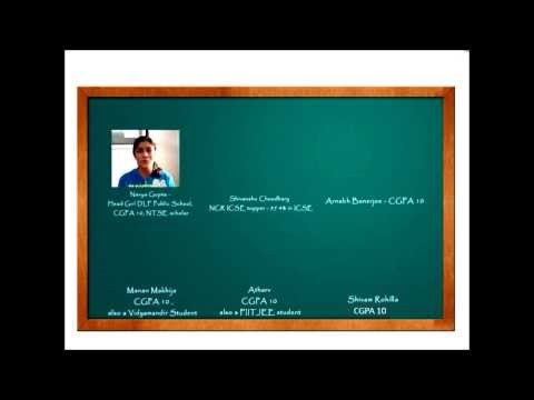 Feedback Video of GreyCells 2 Year Integrated Program Students