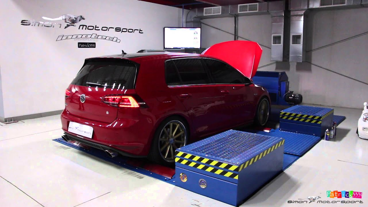 vw golf 7 gti 315hp stage 1 with full ipe exhaust dyno. Black Bedroom Furniture Sets. Home Design Ideas