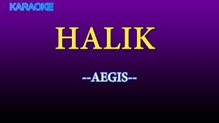 Halik KARAOKE VERSION -Aegis/Karaoke Lyrics/Karaoke Songs/