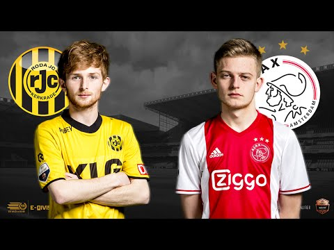 Tom Heijnen - Dani Hagebeuk | Roda JC Kerkrade - Ajax | Speelronde 21 | E-Divisie