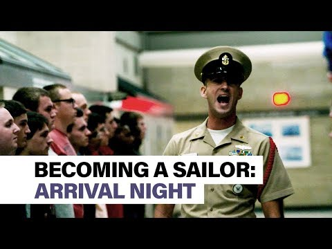 Becoming A Sailor, Part 1: Arrival Night At Boot Camp