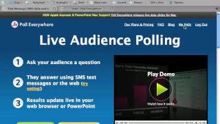 An Educator's Introduction to Poll Everywhere