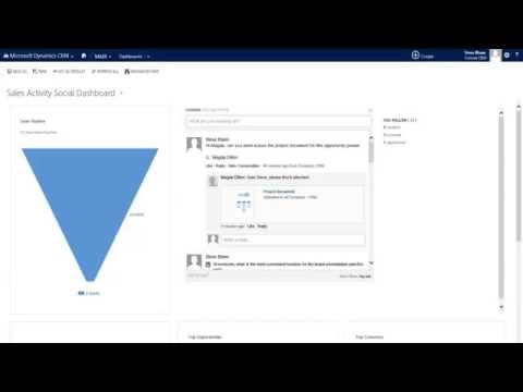 Microsoft CRM and Yammer integration. Team collaboration and client awareness reaches new heights.